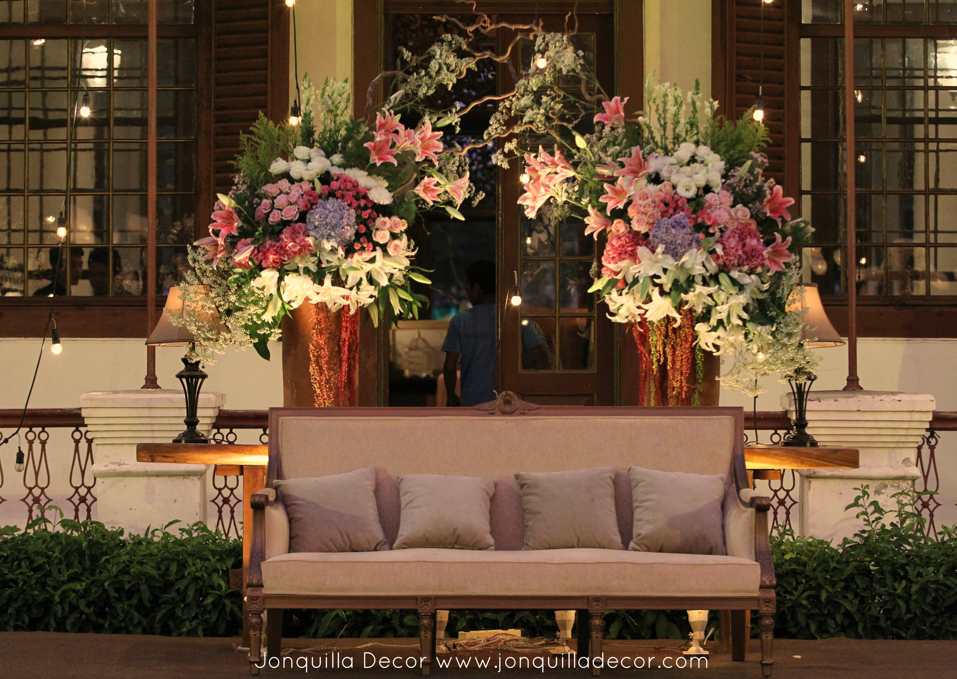 Giselle and gading soft pink wedding at gedung arsip jakarta we met giselle and gading for the first time at plaza senayan for decoration meeting and i who often heard or saw their names on tv was initially a bit junglespirit Gallery